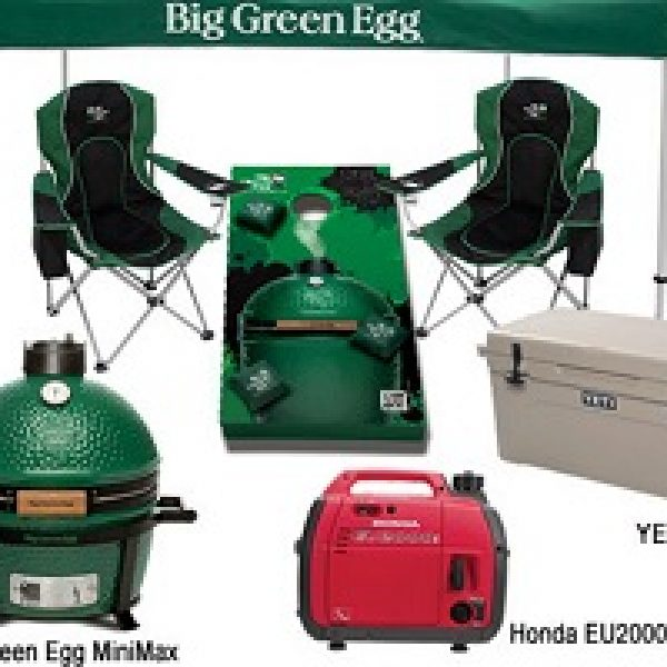 Win a $2,500 Tailgate Prize Package