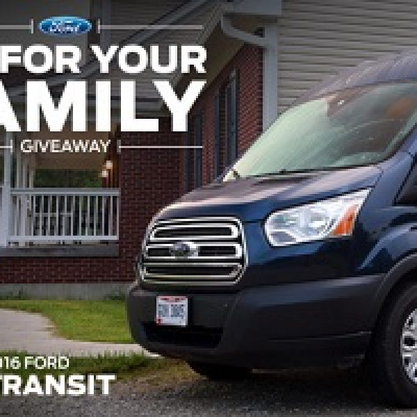 Win A Ford Transit Passenger Van - Sweeps Invasion