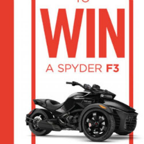 Win A Can Am Spyder More Sweeps Invasion