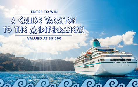 Win A Mediterranean Cruise  Sweeps Invasion
