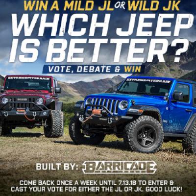 Superb Win A Jeep Wrangler JK Or A Jeep Wrangler JL