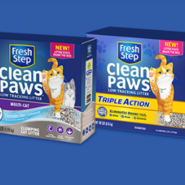 Win A Lifetime of Clean Paws Cat Liter