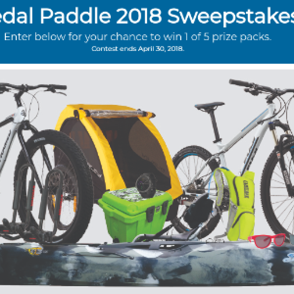 Win 1 of 5 Outdoor Prize Packs