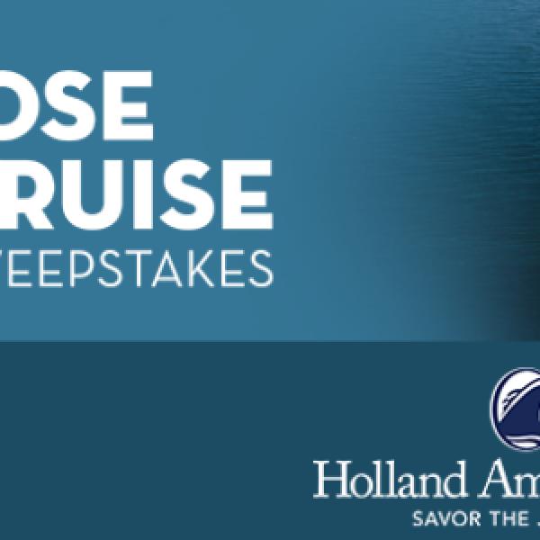 Win a 7-day Cruise