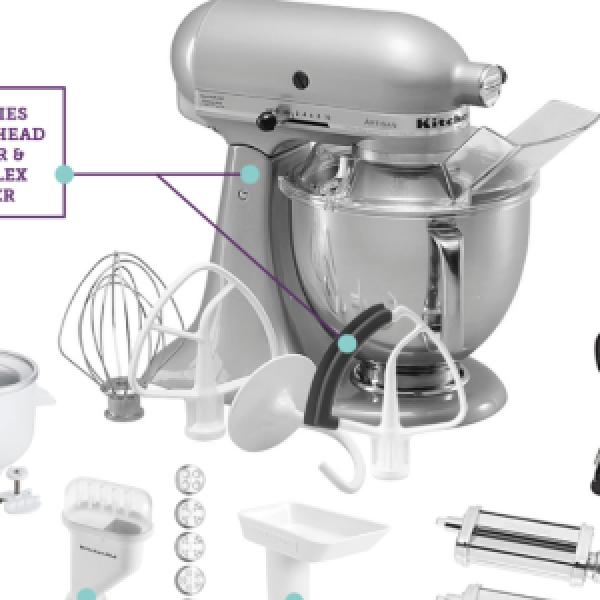 Win A $1,000 Artisan KitchenAid Mixer