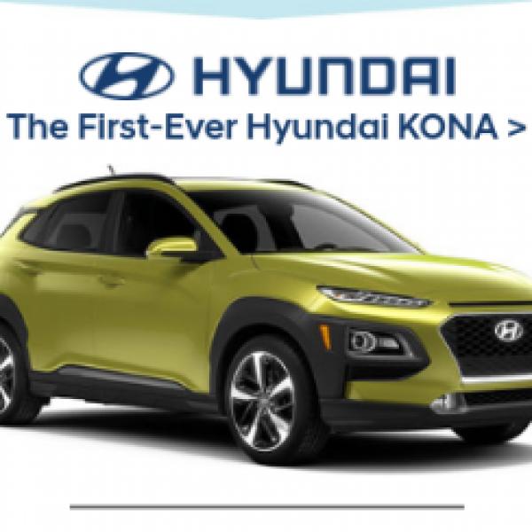 Win a 2018 Hyundai KONA