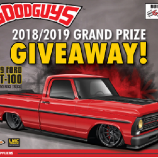 Win a 1969 Ford GRT-100 Truck - Sweeps Invasion
