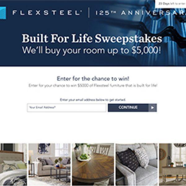 Win $5K in Flexsteel Furniture