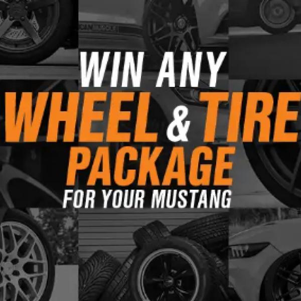 Win a $3,500 Wheel & Tire Package