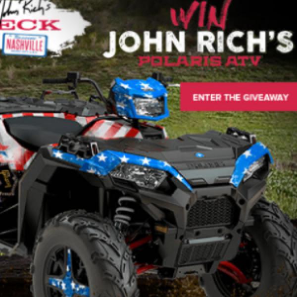 Win a Polaris Special Edition ATV - Sweeps Invasion