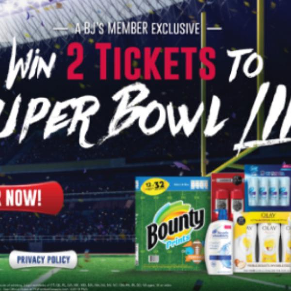 Super bowl ticket giveaway 2019