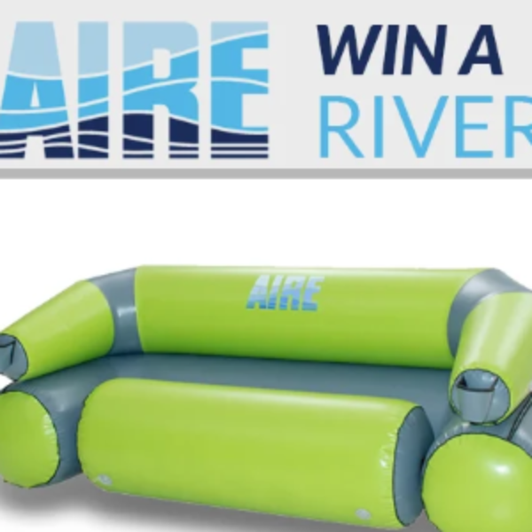 Win an AIRE River Couch - Sweeps Invasion