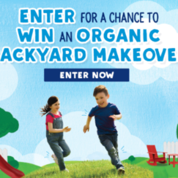 Win a Backyard Makeover from Stonyfield Organic « Sweeps ...